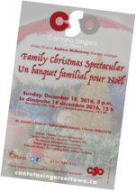 poster for Family Christmas Spectacular